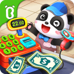 Baby Panda's Supermarket-Halloween Party Shopping  APK