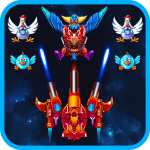 Chicken Shooter: Space Shooting 2.0 APK