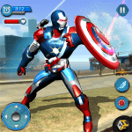 Flying Robot Captain Hero City Survival Mission 2.1 APK