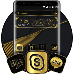 Gold Black Launcher Theme 2.1 APK
