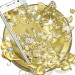 Gold Butterfly Diamond Theme 1.1.15 APK