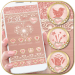 Rose Gold Launcher Diamond Heart Theme 1.1.3 APK