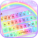 Galaxy Rainbow Keyboard Theme