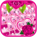 Pink Roses Keyboard Theme